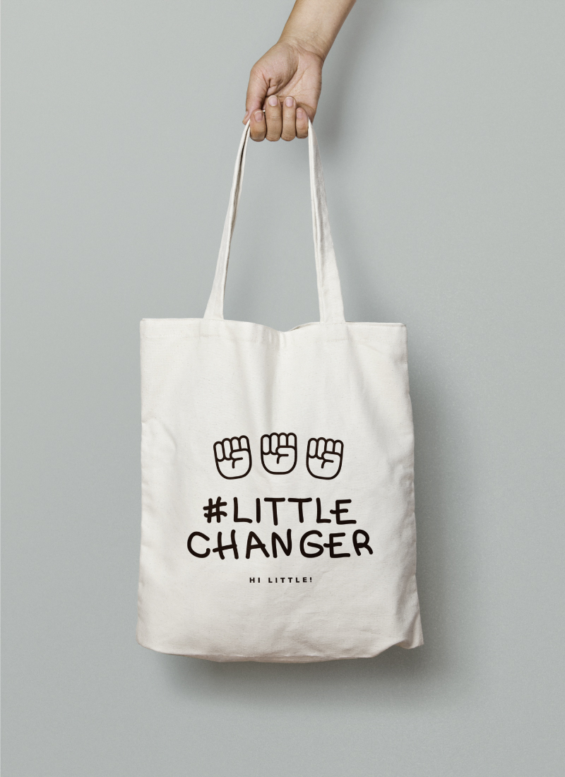 Tote for #LittleChangeMakers