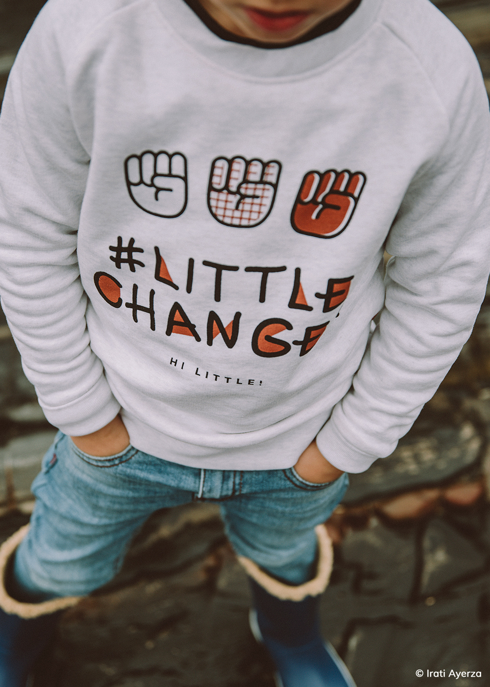 Organic Sweaters for #LittleChangeMakers