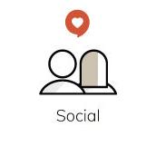 100% social